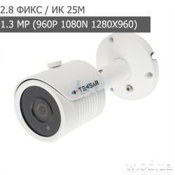 Видеокамера AHD уличная Tecsar AHDW-25F1M (HD 960P)