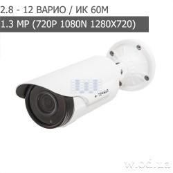 Видеокамера AHD уличная Tecsar AHDW-60V1M-eco (HD 720P)