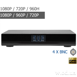 Гибридный видеорегистратор Green Vision GV-A-S 030/04 1080P 4 канальный
