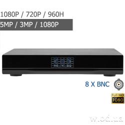 Гибридный видеорегистратор Green Vision GV-A-S 031/08 1080P 8 канальный