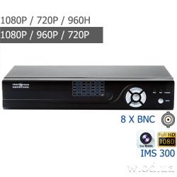 Гибридный видеорегистратор Green Vision GV-X-S028/08 1080P 8 канальный