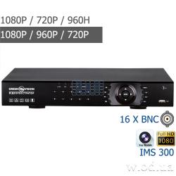 Гибридный видеорегистратор Green Vision GV-X-S029/16 1080P 16 канальный