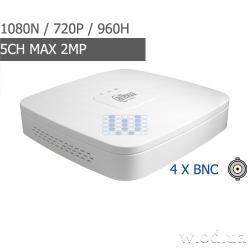 HDCVI видеорегистратор Dahua DHI-XVR4104C-S2 4 канальный