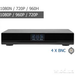 Гибридный видеорегистратор Green Vision GV-A-S032/04 1080N 4 канальный