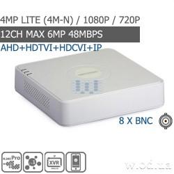 Гибридный Turbo HD видеорегистратор Hikvision DS-7108HQHI-K1 8 канальный