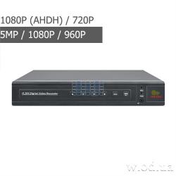 Гибридный видеорегистратор AHD Partizan 2.0MP для 4 камер ADM-44U FullHD 4.2