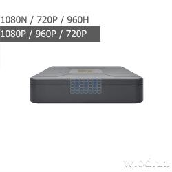 Гибридный видеорегистратор AHD Partizan 2.0MP/AHD-N для 4 камер CHD-30S HD 3.2