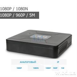 Гибридный видеорегистратор AHD Tecsar FHD - NeoFuturist 4 канальный