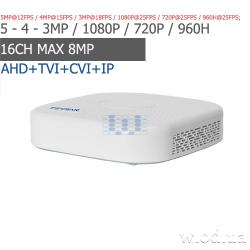 Гибридный видеорегистратор AHD Tecsar Post-Futurist QHD+ 4 канальный