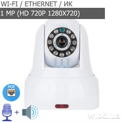 Беспроводная IP камера Tecsar Alert EYE (HD 720P, Wi-Fi)