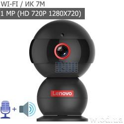 Миниатюрная IP-видеокамера Lenovo Snowman Thinker 720P (HD 720P, Wi-Fi)