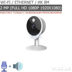 IP-видеокамера Tecsar Airy TA-2 Lite (Full HD 1080P, Wi-Fi)