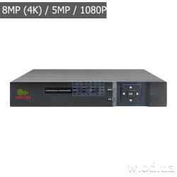 IP-видеорегистратор Partizan 8.0MP (4K) для 8 камер NVH-852 2.0