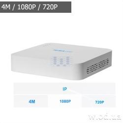 Сетевой видеорегистратор Tecsar Lead NVR-L-8CH1H-SM