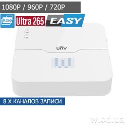 Сетевой видеорегистратор IP NVR Uniview NVR301-08LB 8 канальный