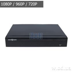 Видеорегистратор NVR для IP-камер Green Vision GV-N-E004/9 1080p