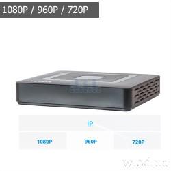 Видеорегистратор NVR Tecsar IP-Modernist