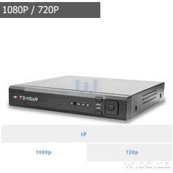 Видеорегистратор Tecsar NVR 8CH1H-FHD
