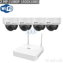 Wi-Fi комплект ZetPro (NVR + 4xIPC) ZIP-KIT/NVR301-04LB-W / 4*322SR3-VSF28W-D серии Smart