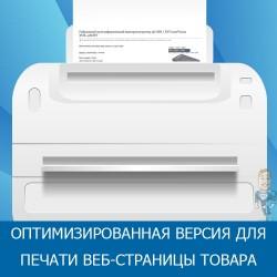 Оптимизированная версия для печати веб-страницы товара