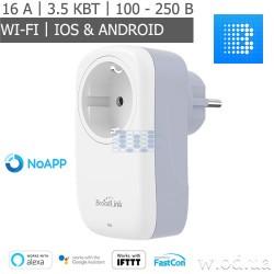 Умная Wi-Fi розетка BroadLink SP4L с таймером (SP4L-EU)