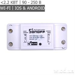 Умный Wi-Fi переключатель Sonoff Basic WiFi Wireless Switch (реле)