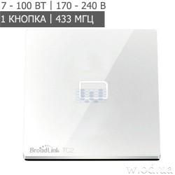 Умный сенсорный выключатель Broadlink TC2-1 (EU)