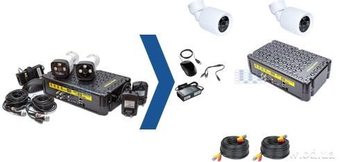 Обновление комплектов видеонаблюдения interVision KIT